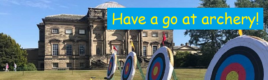 Have a go at archery!